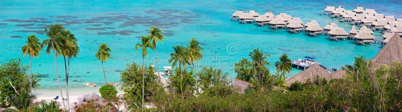 Panorama d'île de Moorea images stock