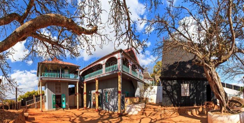 Panorama d'Ambohimanga photos stock