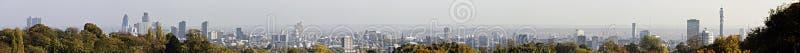 Panorama d'horizon de Londres photo libre de droits