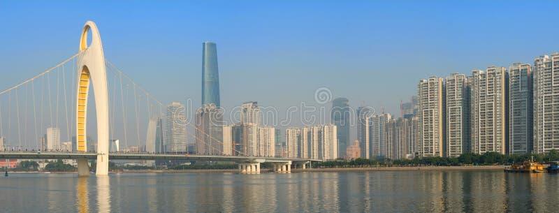 Panorama d'horizon de ville photos libres de droits
