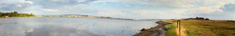 Panorama d'horizontal photo libre de droits