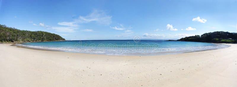 Panorama da baía de Summercloud imagem de stock