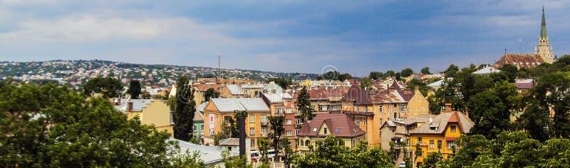 Panorama da cidade de Chernivtsi ucrânia foto de stock