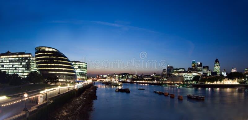 Panorama da cidade de Londres foto de stock royalty free