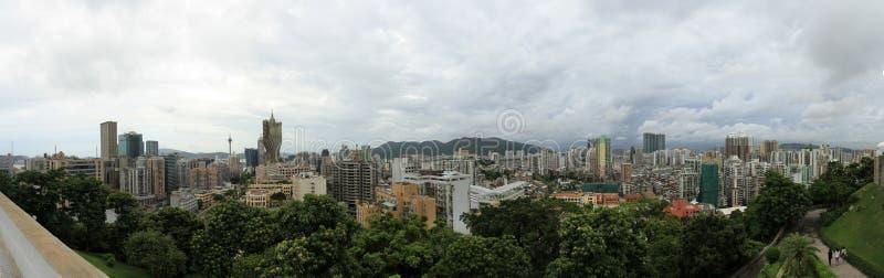 Panorama da cidade de Macau fotos de stock