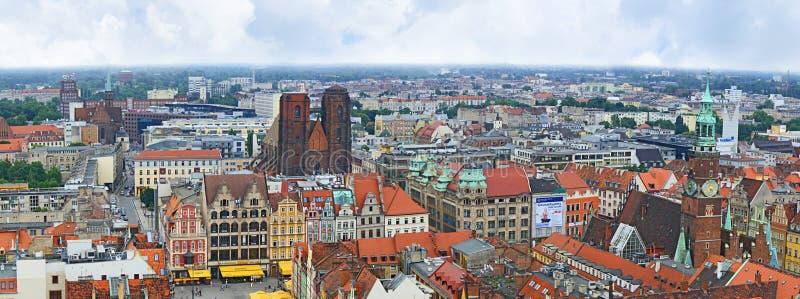 Panorama da cidade velha foto de stock royalty free