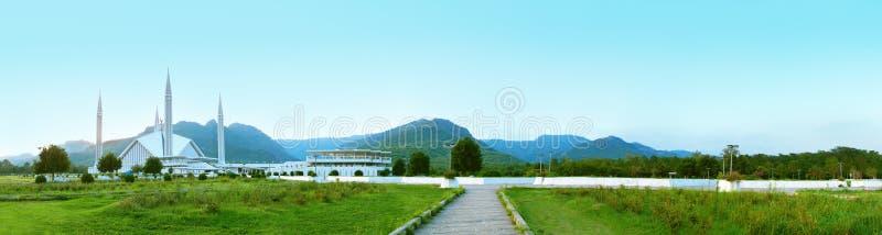 Panorama da mesquita fotos de stock