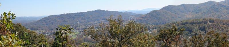 Panorama da montanha de Smokey fotos de stock