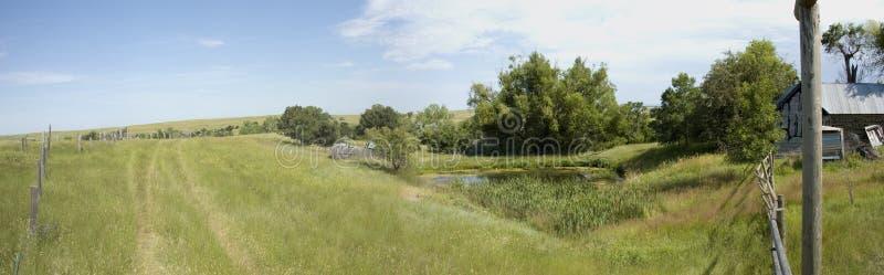Panorama da paisagem de Wyoming imagens de stock