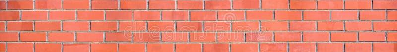 Panorama da parede de tijolo imagem de stock royalty free