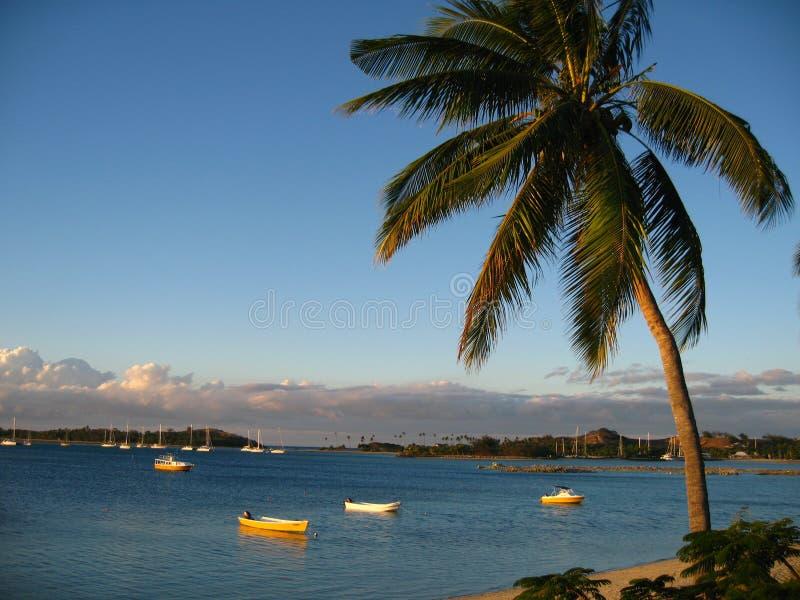 Panorama da praia imagem de stock