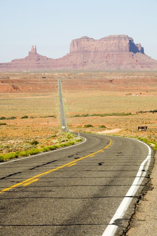 panorama dale pomnikowa autostrady zdjęcia royalty free