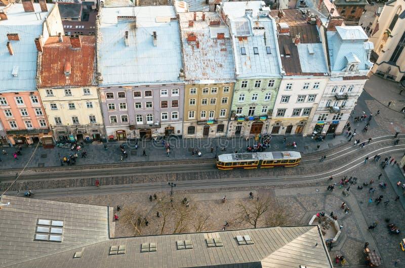 Panorama dalla torre fotografie stock libere da diritti