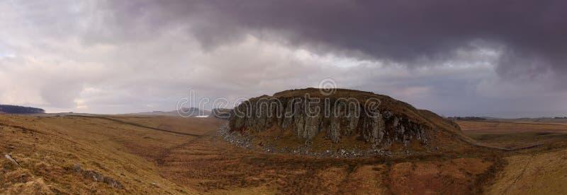 Panorama de aço de Rigg fotos de stock