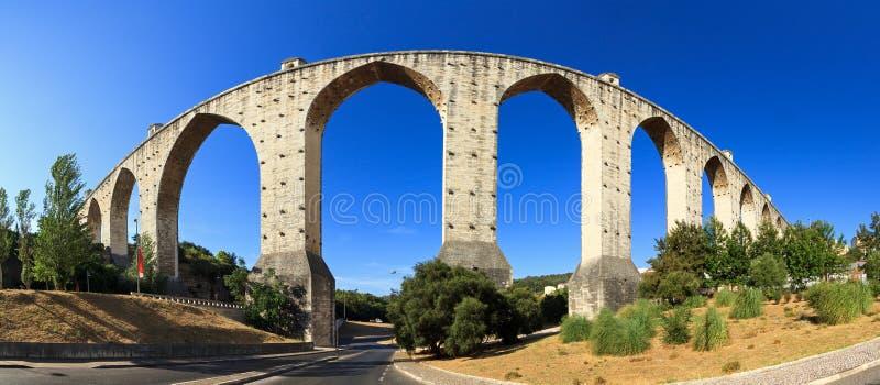 Panorama de Aquaduct imagen de archivo libre de regalías