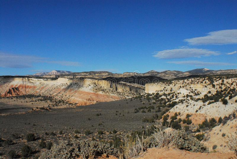 Panorama de Arizona de un paisaje maravillosamente colorido fotos de archivo libres de regalías