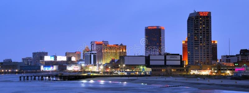Panorama de Atlantic City fotos de stock royalty free