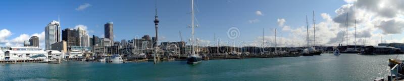Panorama de Auckland imagem de stock