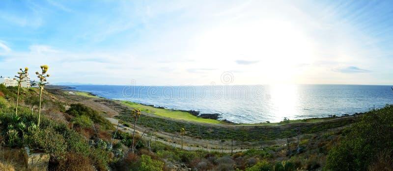 Panorama de BajaMar imagens de stock