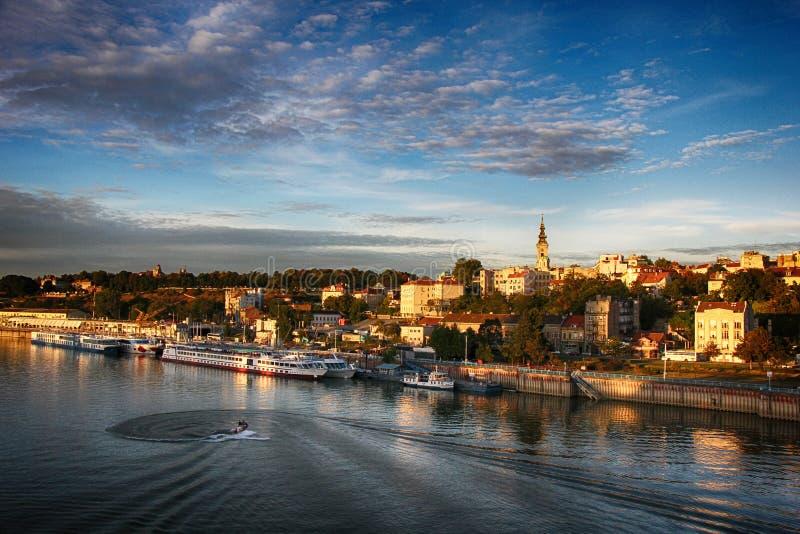 Panorama de Belgrado fotos de archivo libres de regalías