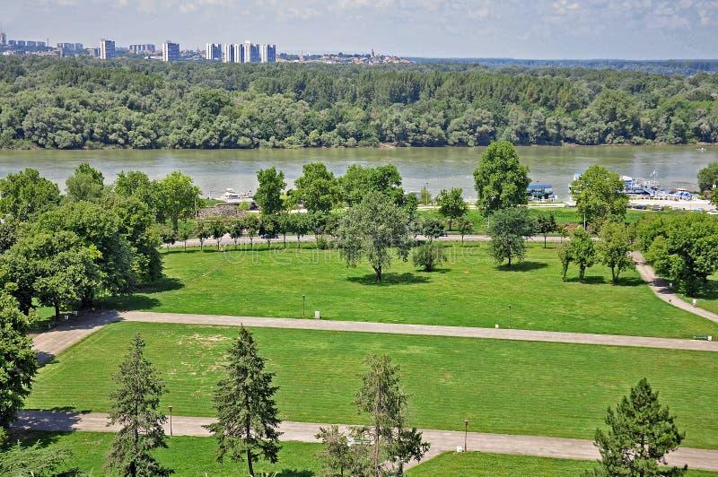 Panorama de Belgrado imágenes de archivo libres de regalías