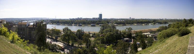 Panorama de Belgrado - Serbia imagen de archivo libre de regalías