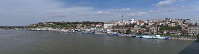 Panorama de Belgrado, Serbia imágenes de archivo libres de regalías