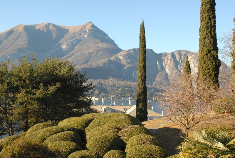 Panorama de Bellagio foto de stock