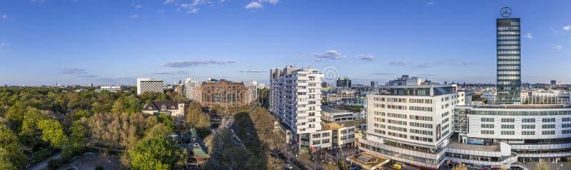 Panorama de Berlin images stock