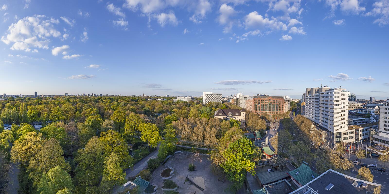 Panorama de Berlin photographie stock libre de droits