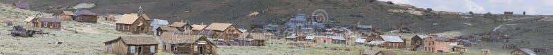 Panorama de Bodie California no montanhês imagem de stock royalty free