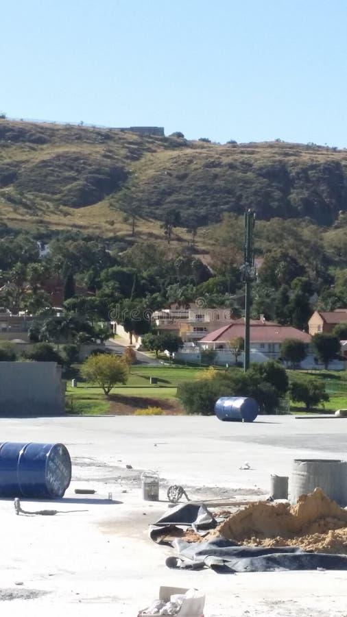 Panorama de Bruma photo stock