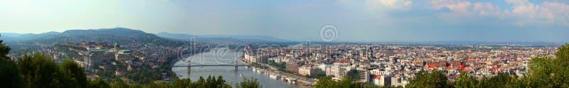 Panorama de Budapest photos stock