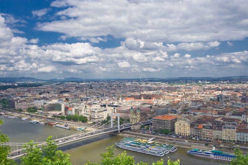 Panorama de Budapest imagens de stock royalty free