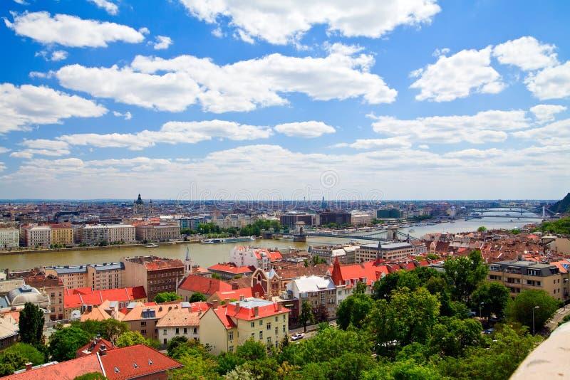 Panorama de Budapest, Hungria imagem de stock royalty free