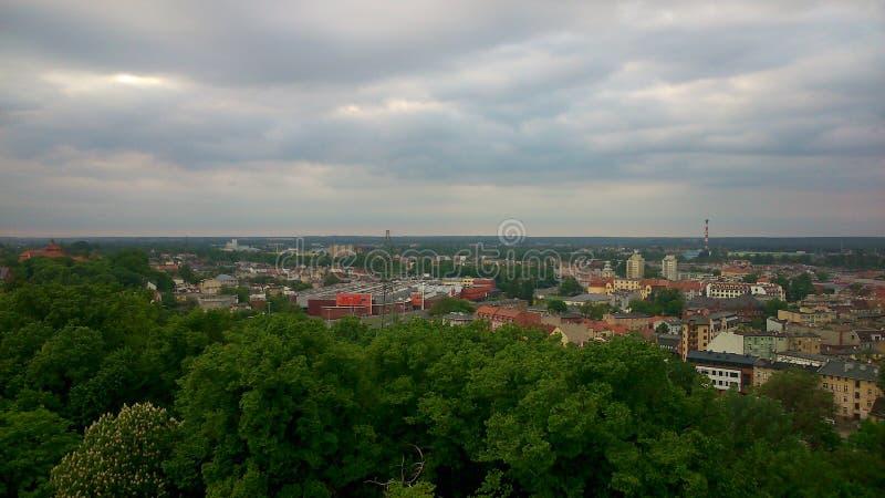 Panorama de Bydgoszcz photos libres de droits