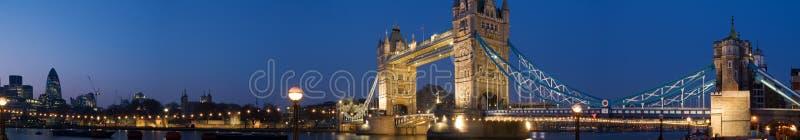 Panorama de Cantral Londres fotos de archivo libres de regalías