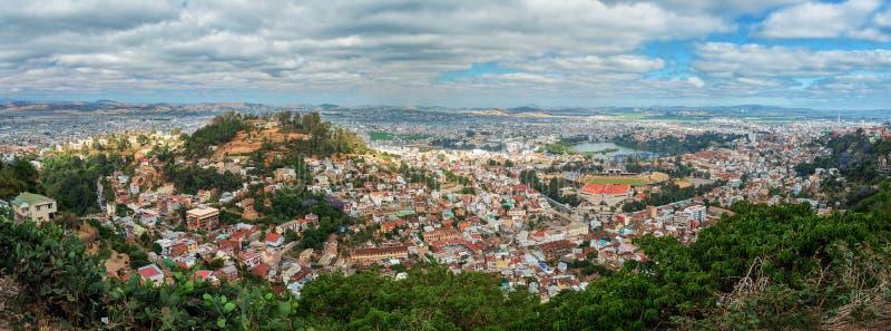 Panorama de capitale d'Antananarivo du Madagascar photos libres de droits