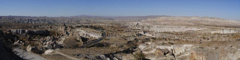 Panorama de Cappadocia photos stock