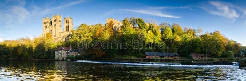 Panorama de cathédrale de Durham images libres de droits