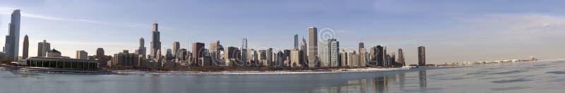 Panorama de Chicago foto de stock royalty free