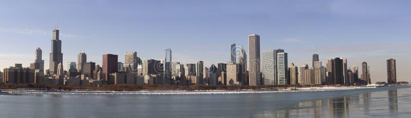 Panorama de Chicago fotos de stock