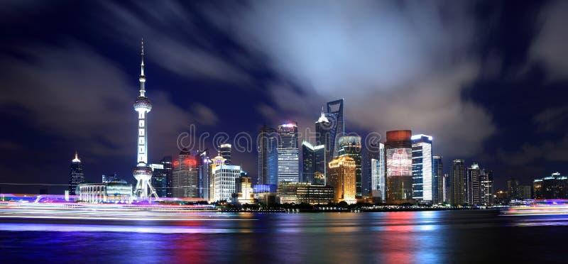 Panorama de China Shangai imágenes de archivo libres de regalías