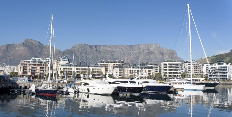 Panorama de Ciudad del Cabo fotografía de archivo libre de regalías