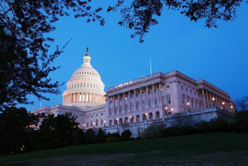 Panorama de construction des USA Capitol Hill, Washington DC photo stock