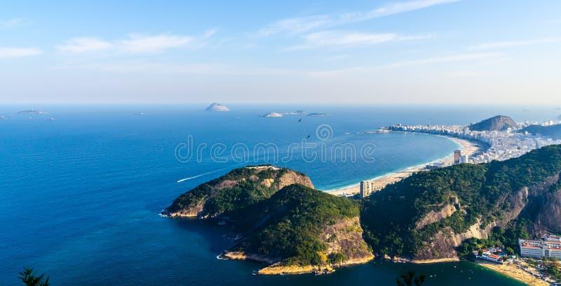 Panorama de Copacabana foto de stock royalty free