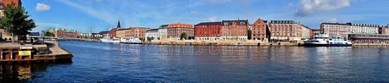 Panorama de Copenhague photos libres de droits