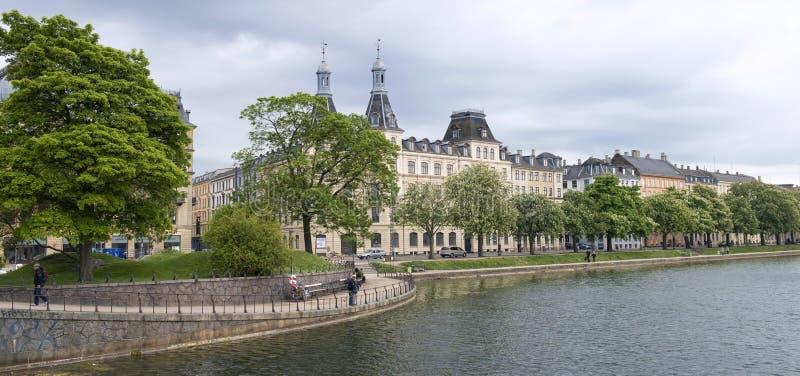 Panorama de Copenhague photographie stock
