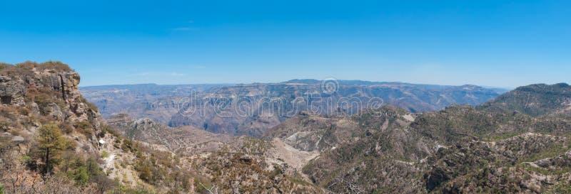 Panorama de cuivre de canyon photos libres de droits