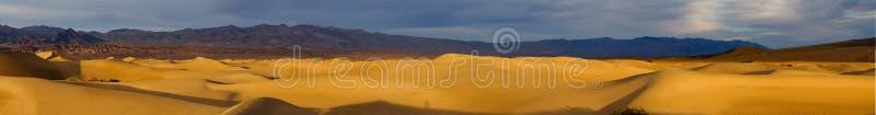 Panorama de Death Valley fotos de archivo